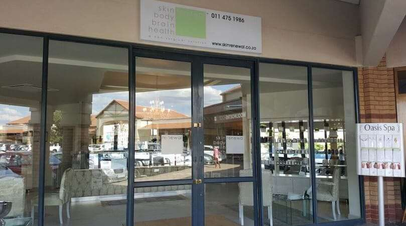 Health renewal west rand entrance at town square