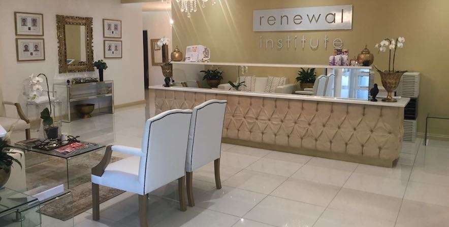Health Renewal Stellenbosch waiting area die boord