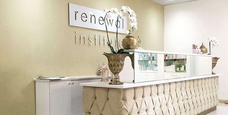 Health Renewal Stellenbosch reception area at Die Boord Shopping Centre